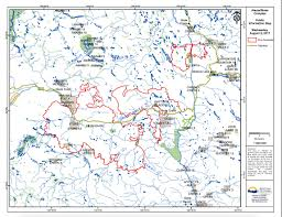Wildfire Bc Map Interactive by Aggressive Activity On The Hanceville Riske Creek Wildfire Prompts