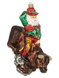 radko ornaments destination ornament rootin tootin nick