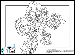100 fire drill coloring pages skylanders swap force pop thorn