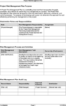 download risk management plan template for free tidyform