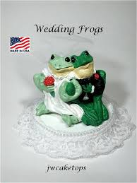 frogs wedding cake topper 51fw dozens of animal tops by jwcaketops