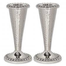 shabbat candlesticks brass candlesticks pewter candlesticks