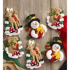 100 seasonal home decorations bucilla seasonal felt shop plaid bucilla seasonal felt ornament kits forest
