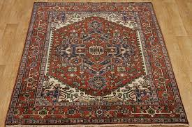 Indian Area Rug Heriz Indian Oriental Area Rug