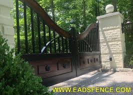 eads fence co your fence store ornamental steel wood gates