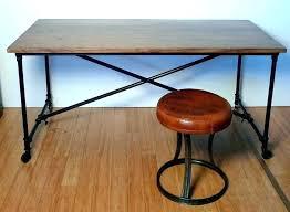 Pipe Desk Diy Black Pipe Desk Jamiltmcginnis Co