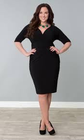 style plus size little black dress ideas
