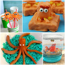 finding dory hank the septopus crafts