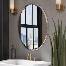 Mirrors For Bathroom Wall Bathroom Mirrors You Ll Wayfair