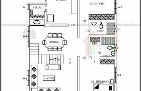 kerala home design 2 bedroom lakhs house plan kerala home design bloglovin sq ft plans 2 bedroom