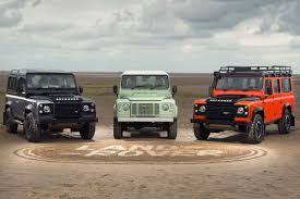 land rover experience defender the final land rover defender rolls off the line carbuyer