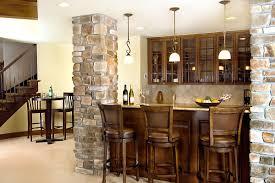small bar for basement home design ideas