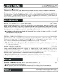 auditor resume exles resume exles