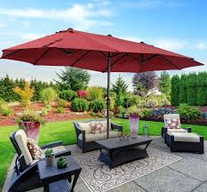 Largest Patio Umbrella Some Types Of Umbrella Patio Cover You Should Patio Design