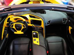c4 corvette interior upgrades my rpi apsis velocity yellow interior mods are complete