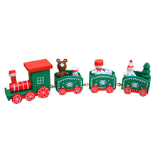 christmas decorations christmas woods small train children