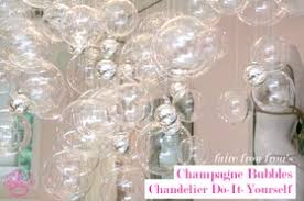 Cascading Glass Bubble Chandelier Glass Bubble Chandelier Cozy Bliss