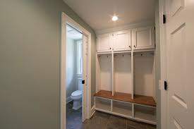 Hardwood In Powder Room Coyle Modular Homes Mudroom And Powder Room Coyle Modular Homes