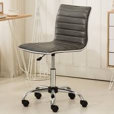 Fabric Covered Desk Chairs Leather Office Chairs You U0027ll Love Wayfair