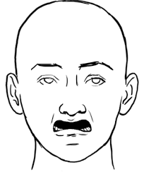 Disgusted Face Meme - drawn face disgusted pencil and in color drawn face disgusted