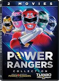 amazon power rangers 2 movies collection artist