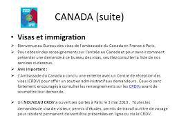 bureau des visas canada avant propos depuis plus d un an environ chacun attend ce moment