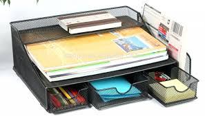 safco onyx mesh desk organizer desk hangzhou high quality metal mesh desk organizer 3 drawers and