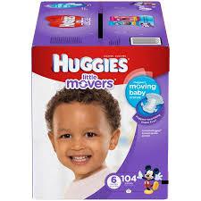 huggies gold specials huggies movers diapers size 6 104 diapers walmart