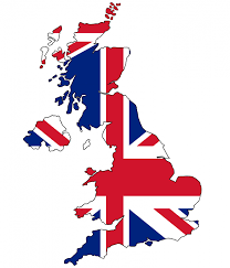 British Flag With Red British Flag Clipart England Map Pencil And In Color British