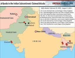 Dia Map Al Qaeda In The Indian Subcontinent Almost Forgotten Critical