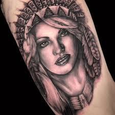 sleeve tattoo designs for females 52 female indian chief tattoos