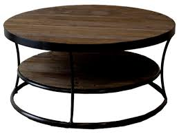reclaimed wood round coffee table coffee tables thippo