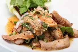 web cuisine น ำตกหม อาหารไทย อ สานส ดแซ บ อร อยครบรส food
