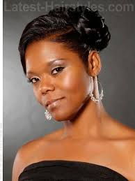 african american hairstyles trends and ideas side bun 16 beautiful black hairstyles that are perfect for weddings