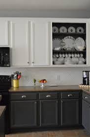 Painted Kitchen Cabinets Ideas Kitchen Ideas Toned Kitchen Cabinets Painted Two Colors New