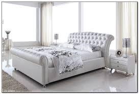 White Leather Bed Frame King White Leather Bed Frame Bed Frame Katalog 3e27f5951cfc
