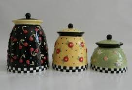 dillards kitchen canisters large canister sets foter