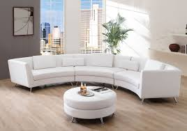 Curve Sofas by Furniture Curvy Sofa In White Cotton Material Combined With