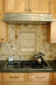 home design exciting backsplash behind stove with wooden kitchen