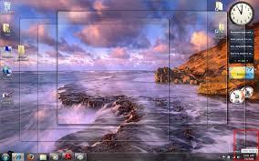 affichage bureau windows 7 afficher le bureau souris windows 7