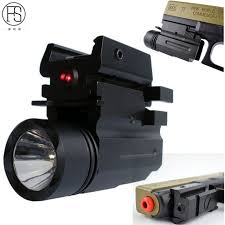 glock 19 laser light combo tactical sight hunting combo red laser light led cree flashlight for