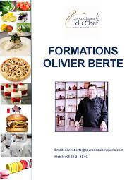 formation cuisine formations pro cours de cuisine à
