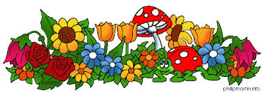 marten clipart spring flower pencil and in color marten clipart