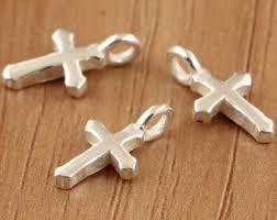 silver cross bracelet charm images 925 silver cross etsy jpg