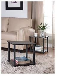 side table set of 2 amazon com tools single cube storage shelf side tables set of 2