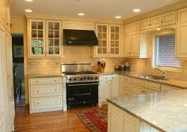 Cream Distressed Kitchen Cabinets Cream Colored Kitchen Cabinets Appealing 13 Best 25 Colored
