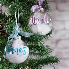 personalised glass angel bauble buy from prezzybox com