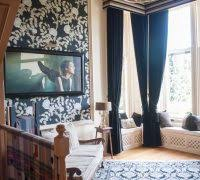 glasgow heavy velvet living room traditional with communal themed