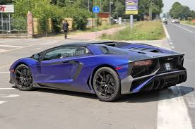 lamborghini aventador convertible spied lamborghini aventador sv roadster exposes its removable roof