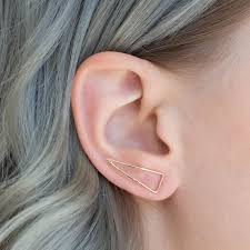 ear earing 17 best ear pin earrings ear crawlers images on ear
